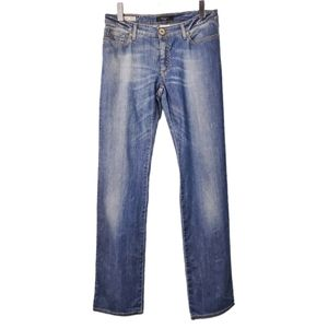 Weekend MaxMara Straight Leg Faded Jeans 8
